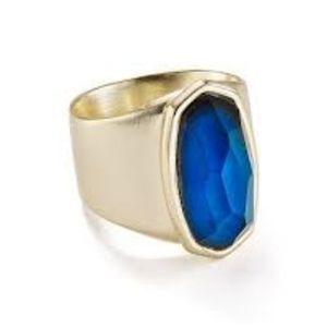 NWT Kendra Scott Leah Mood Ring in GOLD